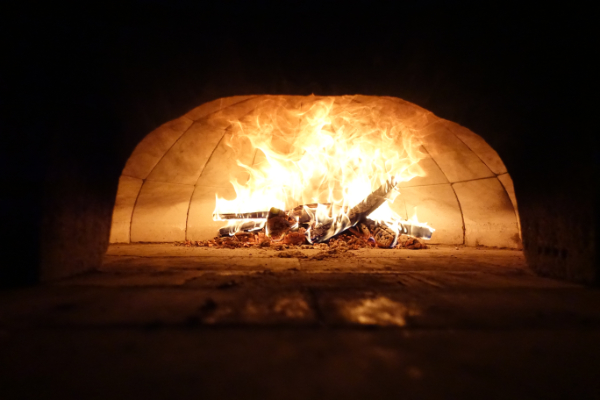 Baking artisan breads in a wood-fired oven